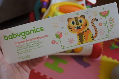 Review Sudocrem dan Babyganic Toothpaste