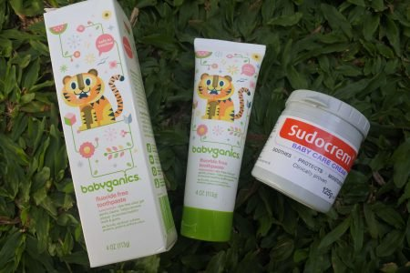 Review Sudocrem dan Babyganic Toothpaste