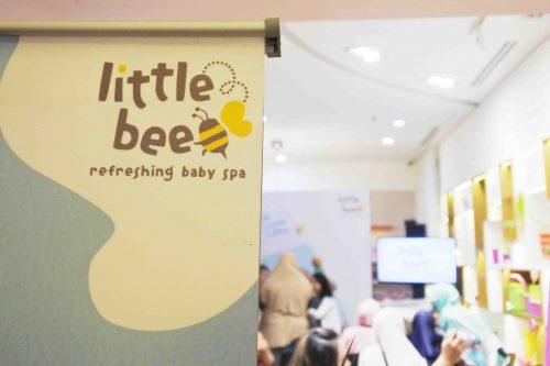 Baby Spa di Rumah Bersama Tupperware Little Bee
