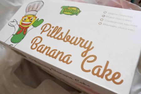 Review Pillsburry Banana Cake Bika Bogor