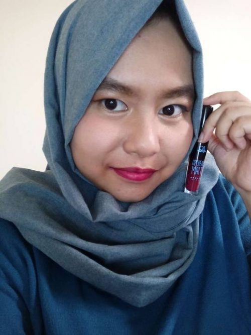 Review & Swatch All 8 Shades Lipcream Matte QL Cosmetic
