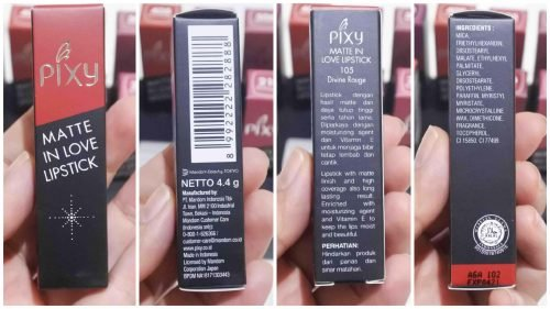 Review Pixy Matte in Love Lipstick (Full Swatch!)