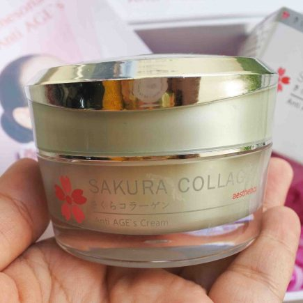 Review Sakura Collagen Anti AGE`s Cream