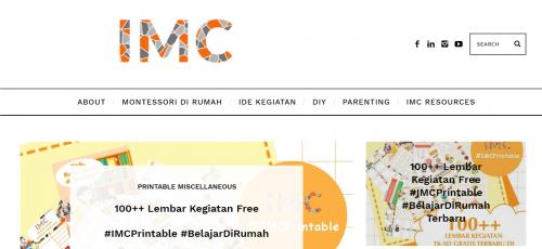 Indonesian Montessori - 3 Situs Printable Gratis Untuk Anak - Faradila's Favorites