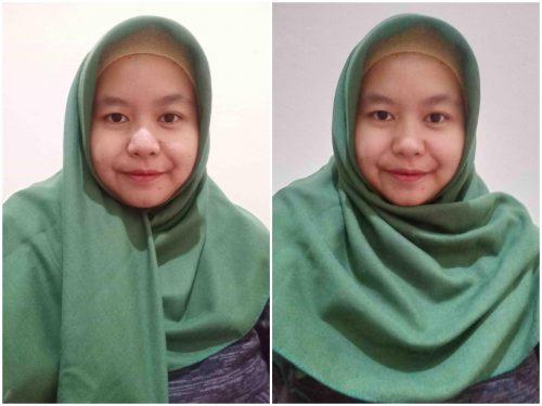 4 Cara Memakai Hijab Segiempat