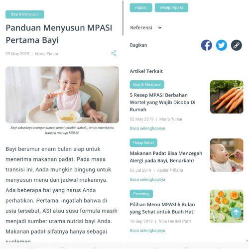artikel di aplikasi SehatQ