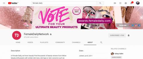 5 Youtube Channel Favorit Faradila
