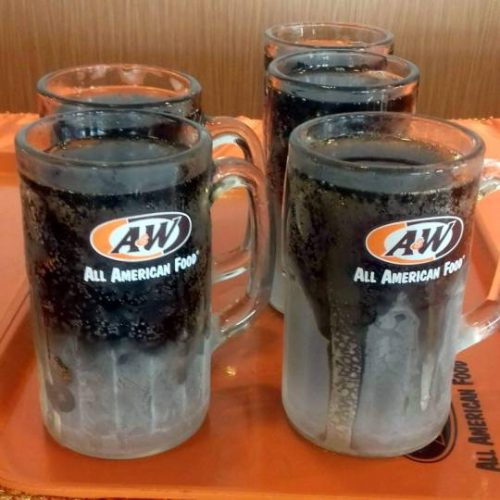 All Day Breakfast Waffles ala A&W Restaurant