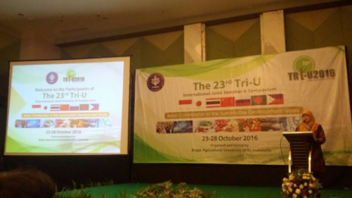 Alumni Events in Tri U International Joint Seminar & Symposium 2016