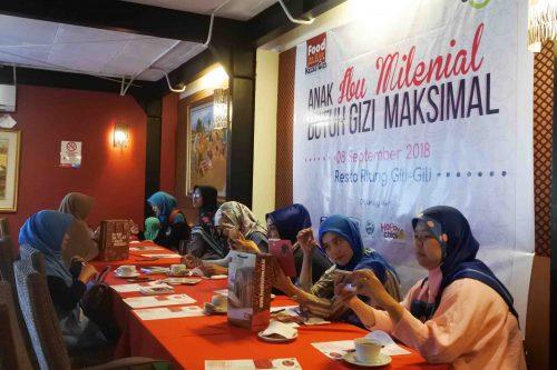 Anak Ibu Millennial Butuh Gizi Maksimal - Kelas Gizi Food For Kids Indonesia