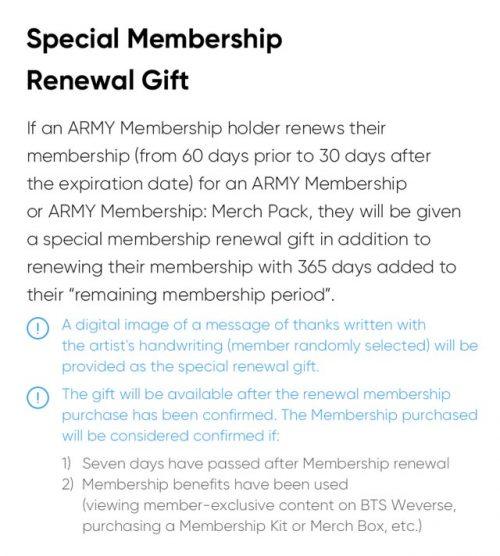 Ketentuan ARMY Membership