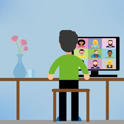 Berbagai Cara Silaturahmi Virtual