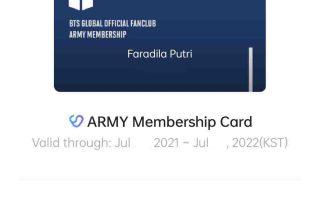 Beli BTS ARMY Membership