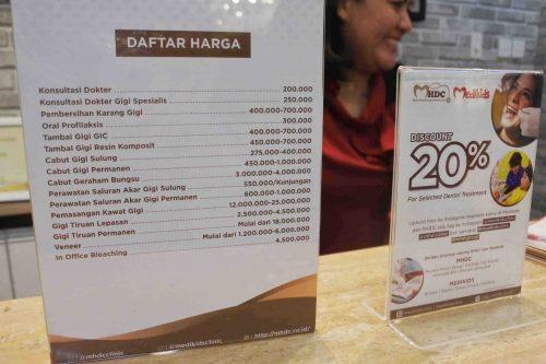 Daftar Harga MHDC Kalibata City Pricelist