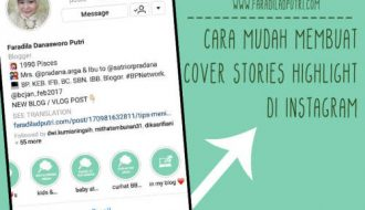 Cara Mudah Membuat Cover Stories Highlight di Instagram