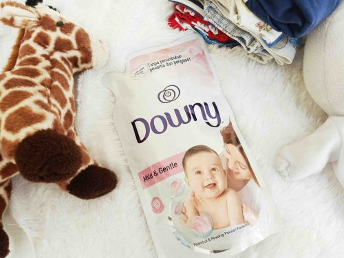 Review Downy Mild & Gentle