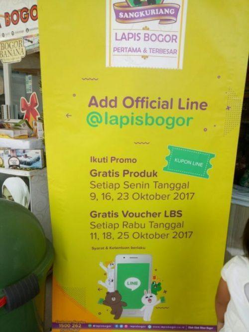 Lapis Bogor Sangkuriang Cabang Jalan Baru