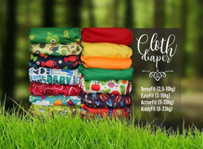 Cloth Diaper (Clodi) 101 for New Moms!