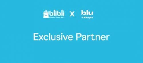 Blibli x blu exclusive partner diskon promo #blubuatbaik