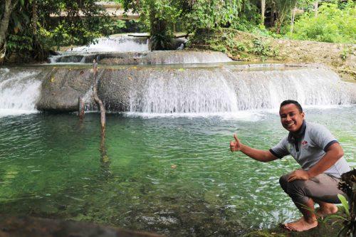 Air Terjun Ubadari - Gara-gara Suami Sering Dinas ke Papua