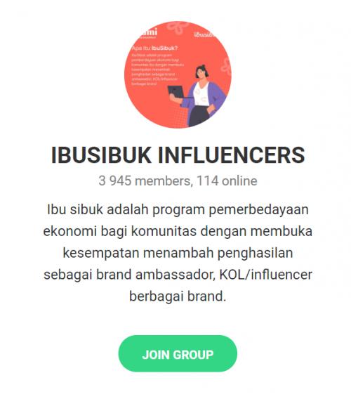 Ikut IbuSibuk Influencer di Orami, Bisa Jadi Influencer Dari Rumah!