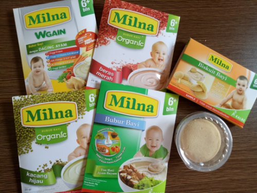 Berbagai Produk Milna
