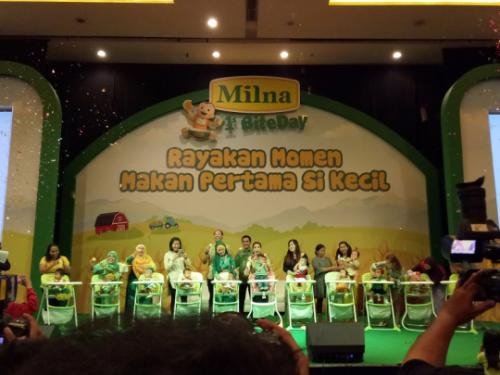 Milna 1st Bite Day Jakarta