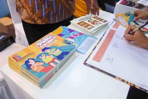 Kemeriahan Festival Literasi Sekolah 2019 Kemendikbud