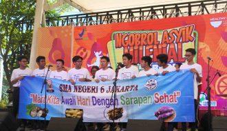 SMA 6 Jakarta Kiat-kiat Makan Sehat untuk Generasi Millennial Badan POM