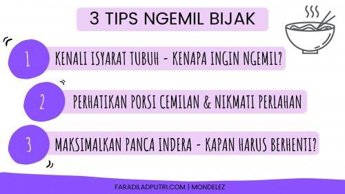 3 Tips Ngemil Bijak