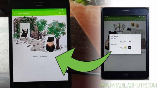 Aplikasi Let's Read Perpustakaan Digital Library