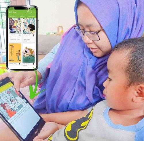 Aplikasi Let's Read! Membaca Menyenangkan