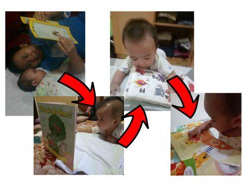Proses pengenalan anak terhadap buku