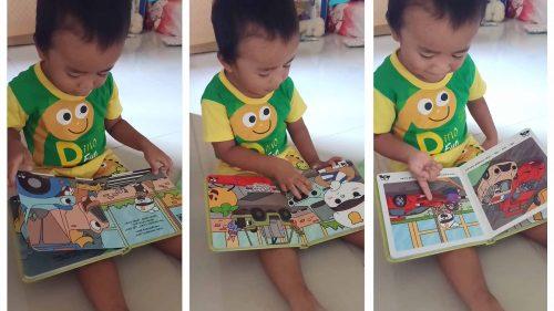 Anak mulai read aloud sendiri