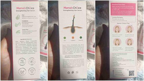 First Impression Mama's Choice Strengthening Hair Serum