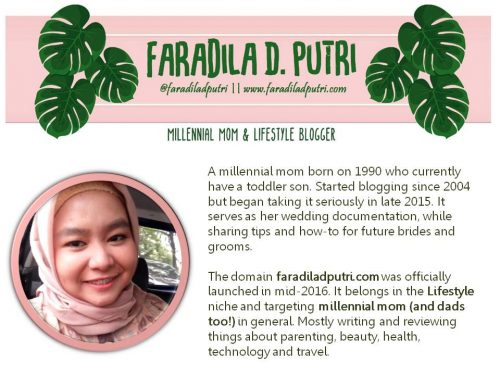 Media Kit Faradila Danasworo Putri