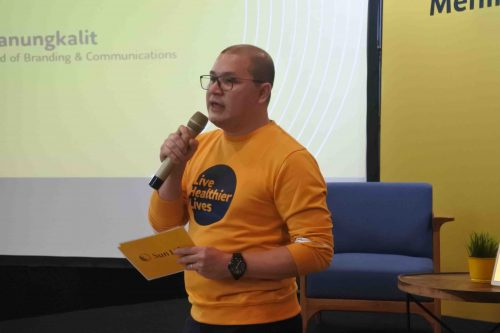 Kaiser Simanungkalit selaku VP Brand & Communication Sun Life Indonesia