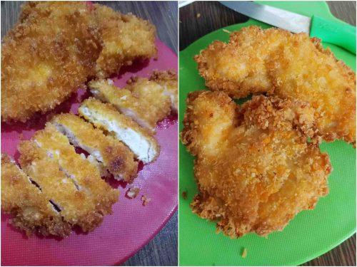 Memasak Homemade Chicken Katsu