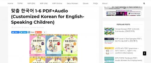 Mencoba Belajar Bahasa Korea Saat PSBB