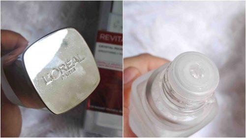 Mencoba Essence Wajah L'Oreal Paris Revitalift Crystal Micro Essence