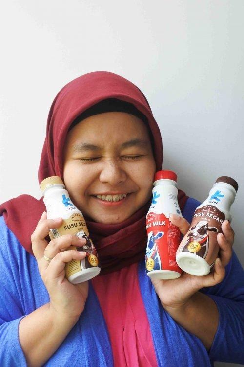 Mencoba KIN Fresh Milk, Susu Segar dari Sapi A2