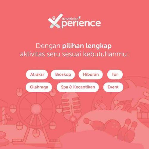 Mendapatkan HTM Playground Anak Murah di Traveloka Xperience