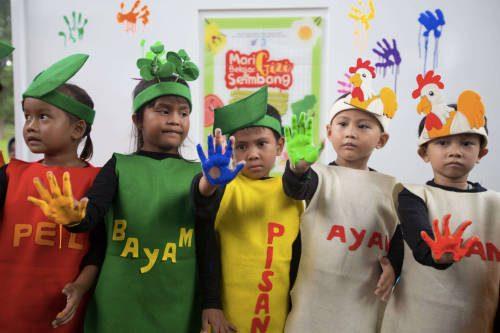 "Mengenal ""Isi Piringku"" di Festival Gizi Anak bersama Danone"