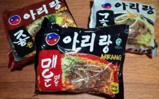 Mie Instan Korea Halal dan Enak = ARIRANG