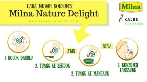 Milna Nature Delight Review: Cara Mudah Makan Buah