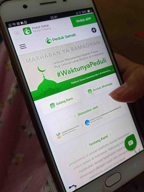 Mudah Galang Dana Online dengan Peduli Sehat