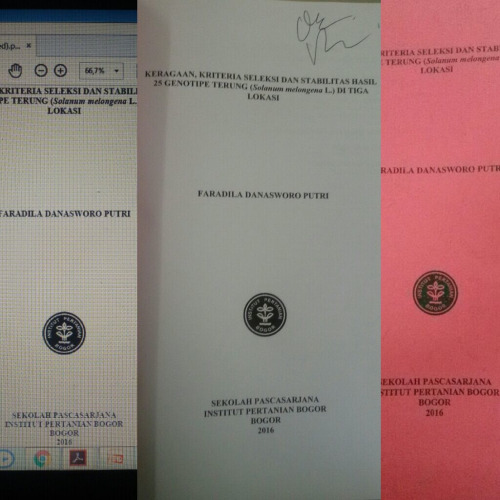 My Master Thesis IPB University AGH PBT