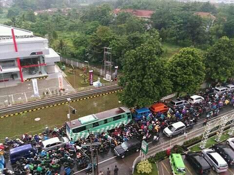 Macetnya Dramaga Bogor