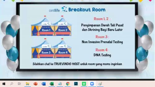 cordlife indonesia breakout room