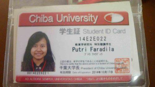 Mahasiswa Chiba University